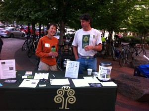 Silver Spring Green at Bike-to-Work Day 2013